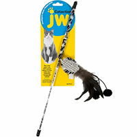 JW Pet Cataction Ball with Wand