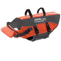 Outward Hound PupSaver Ripstop Life Jacket - Orange (Large