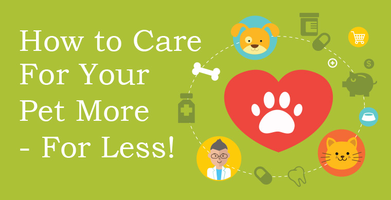 How to Care for your Pet More- For Less