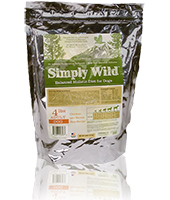 Simply Wild Chicken & Brown Rice for Adult Dogs