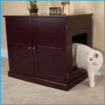 Pet Studio Litter Box Cabinet