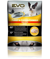 EVO Small Bite Turkey and Chicken Dry Dog Food