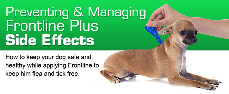 Frontline Plus For Small Dogs Side Effects