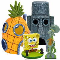 Spongebob & Squidward Home Aquarium