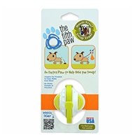 The Fifth Paw® - Hands Free Poop Bag Carrier Leash Attachment