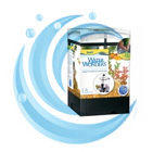 Water Wonders Aquarium Kit – Black (1.5 gallon)