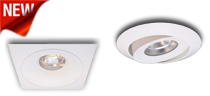 New European Design 15 Watt LED Downlights that come with their own dimmable driver