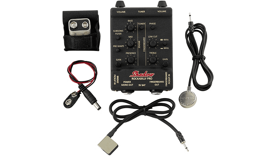 All of the components of the pickup system.