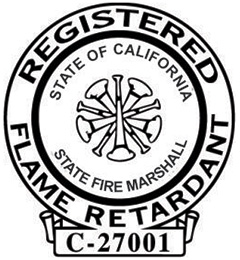 California Registerd Flame Retardant