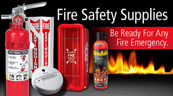 Fire Safety - Fire Extinguishers - Signage