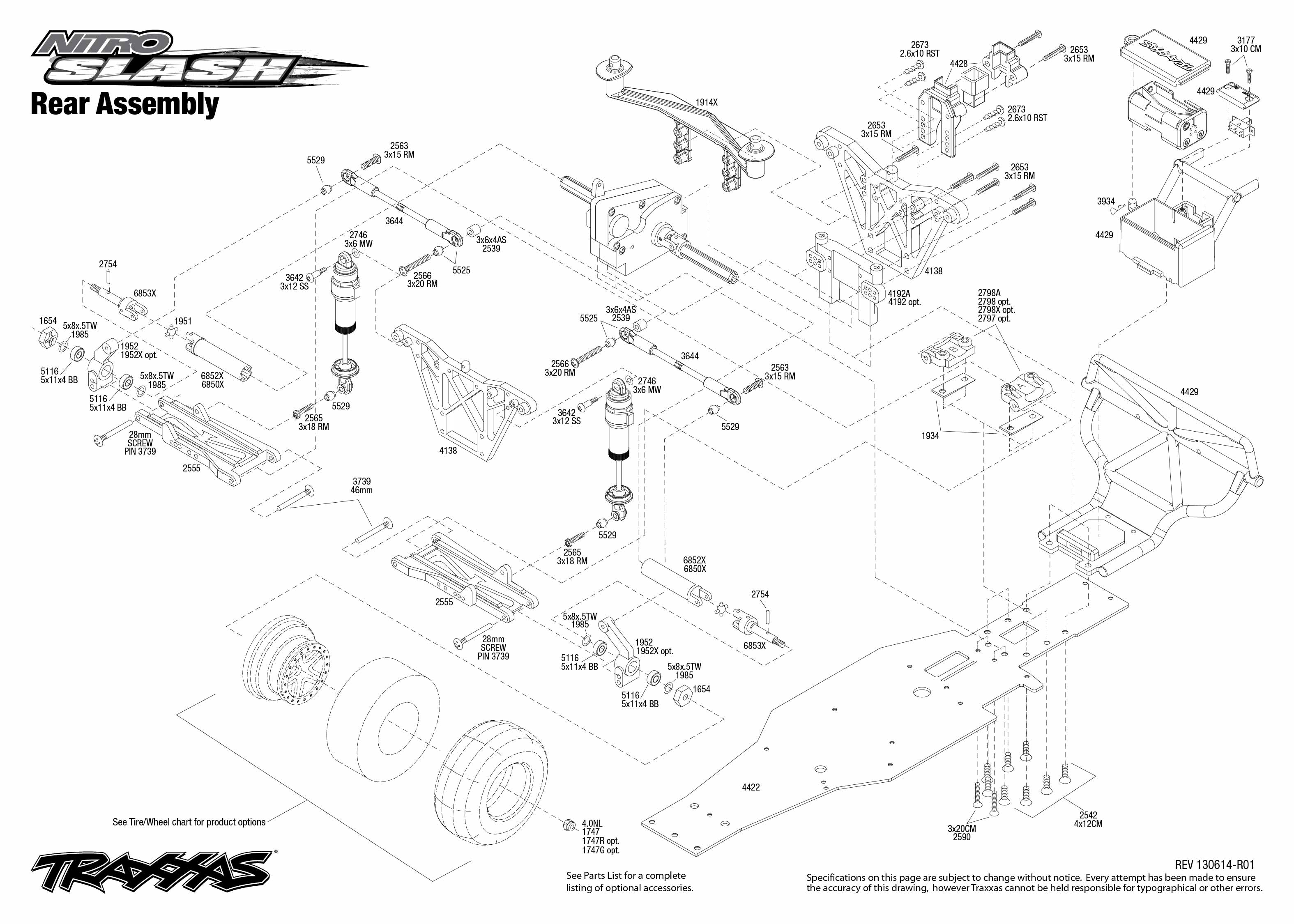 traxxas 1  10 nitro slash 2wd short course truck 44054 traxxas slash 2wd parts diagram traxxas slash 2wd vxl parts diagram