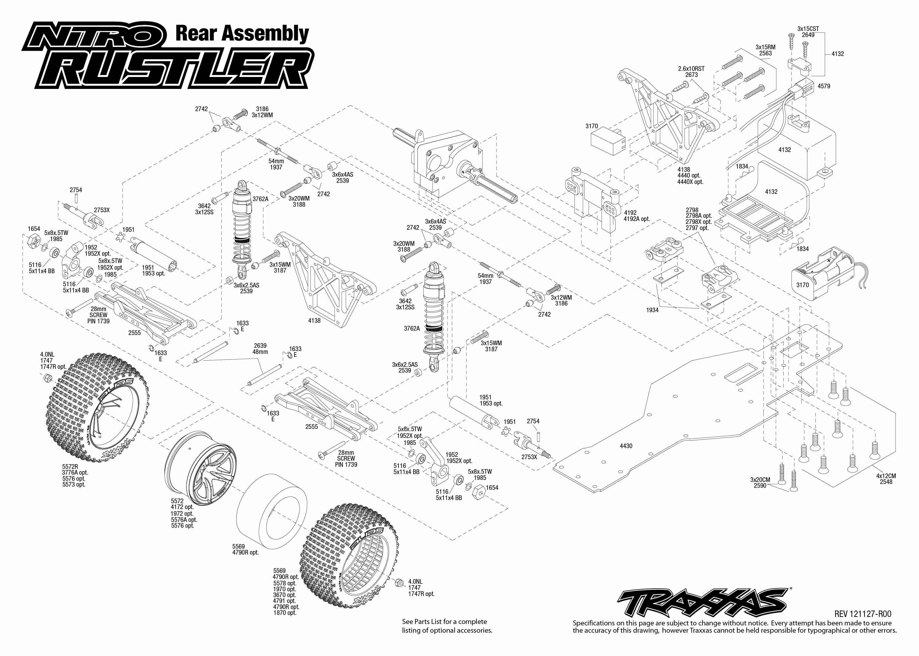 Traxxas Rustler Vxl Transmission Parts 1 10 Scale Slash 4x4 Brushless Short Course Truck 6808l List Wiring Diagrams U2022 Rh Autonomia Co Manual