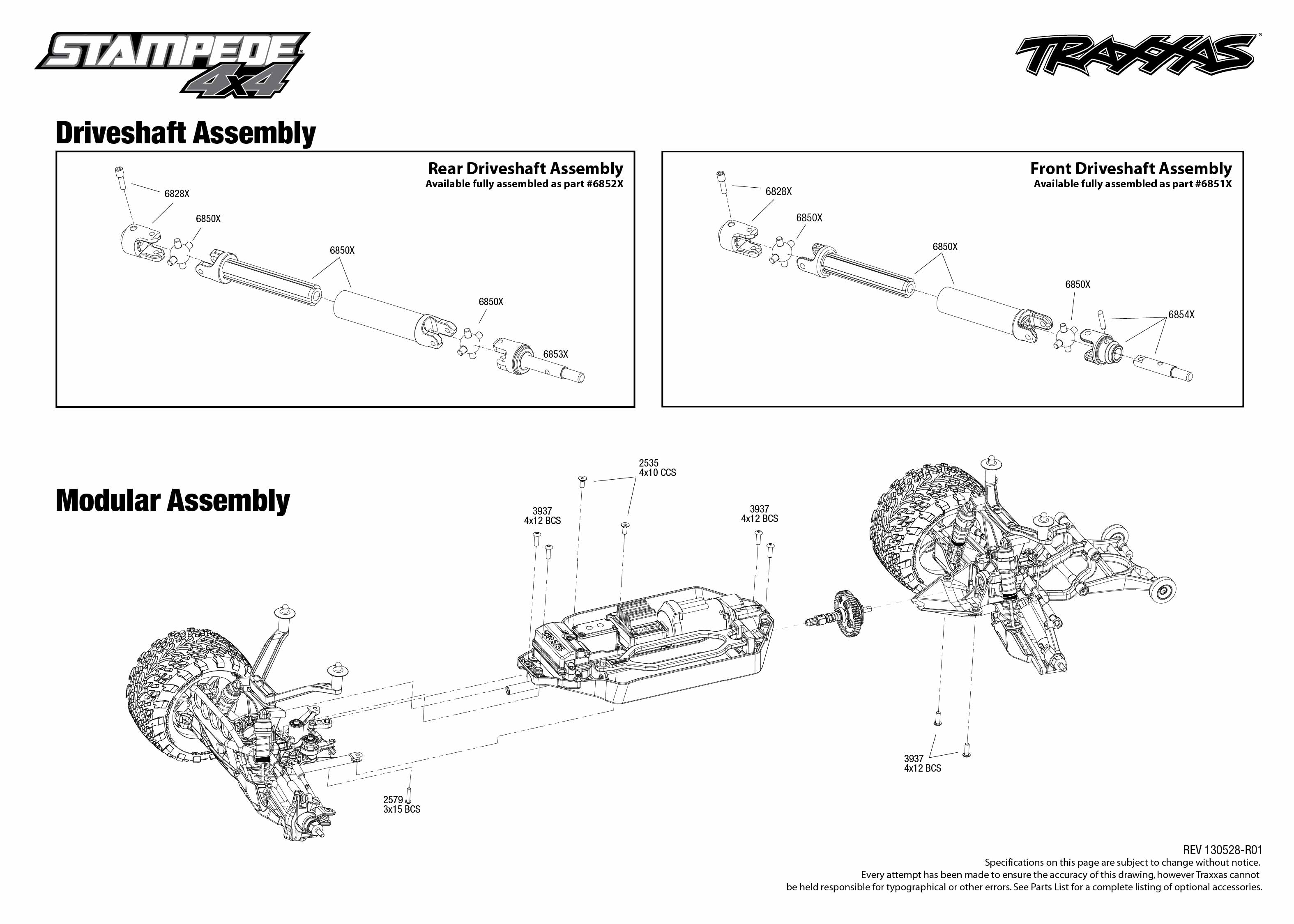 Traxxas stampede vxl parts diagram traxxas bandit parts diagram traxxas nitro slash parts pooptronica Images