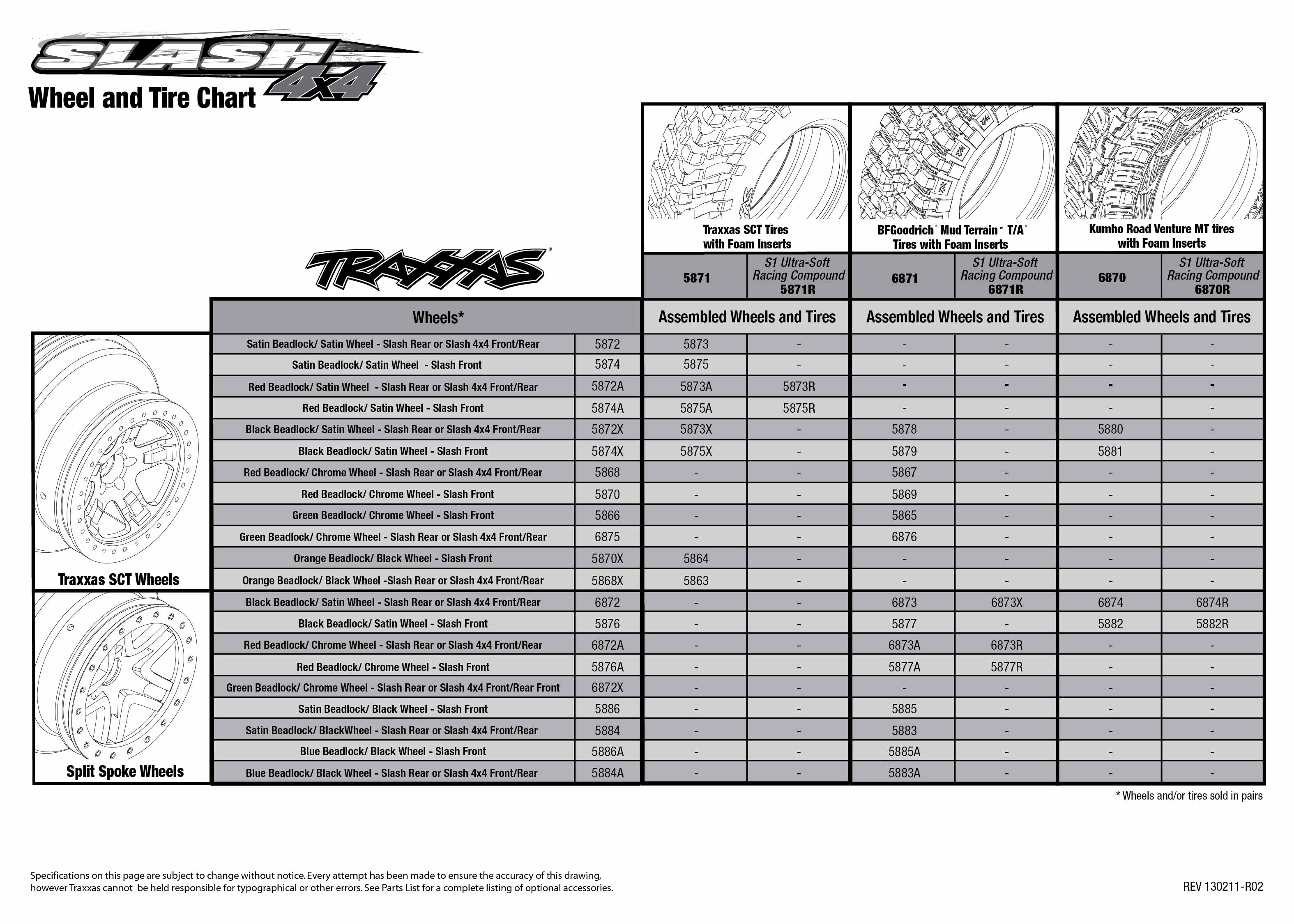 6808L_TQi_explodedviews_130211_6808 Tire Chart_0 traxxas tqi receiver wiring diagram traxxas wiring diagrams Traxxas Slash at cos-gaming.co