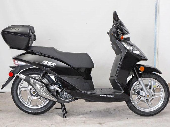 Znen Phoenix 150cc 16 Bigger Tires Gas Motor Scooter - MC_ZS_18
