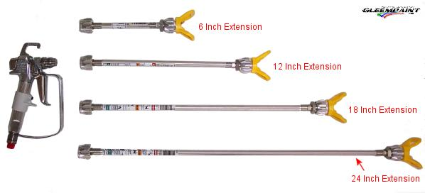 Airless Tip Extensions Sizes