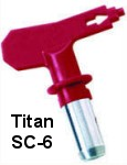 Titan SC-6 Reversible Spray Tip