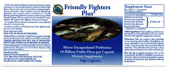 Friendly Fighters Probiotic