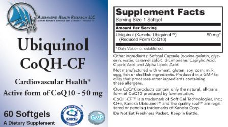 ubiquinol label