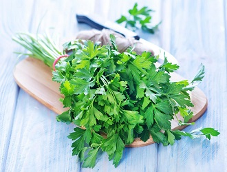 gout and parsley