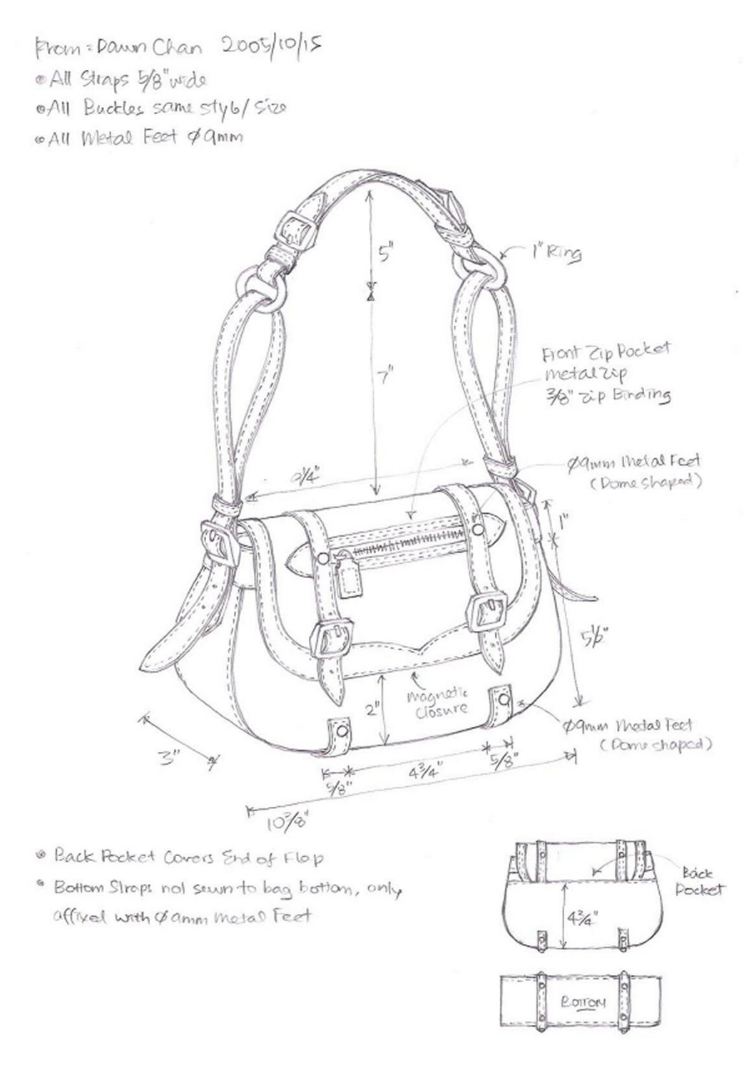 Handbag Drawing