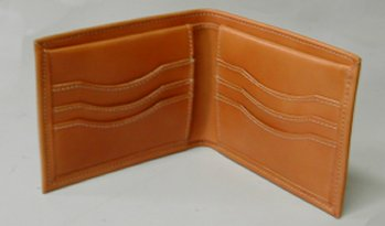 bridle leather wallet