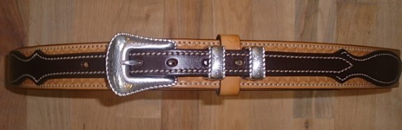 Custom made Texas Ranger Belt