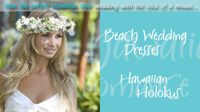 Hawaiian Wedding Shop: Beach Wedding Dresses, Hawaiian Wedding ...