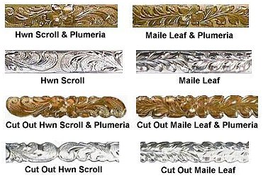 You may choose these designs for your bracelet