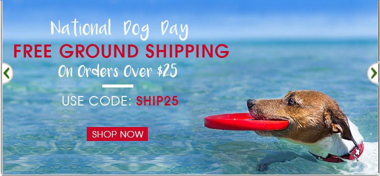 National Dog Day Sale