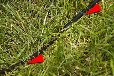 pet fence yard staples. Until There Is Approximately One Twist Per Inch Of Wire Do Not Overtwist Because This Could Damage The Repeat For Each Required Pair Pet Fence Yard Staples N