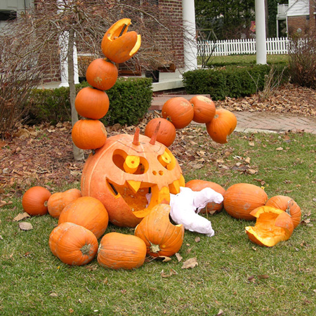 Extreme Pumpkins Baby Eater