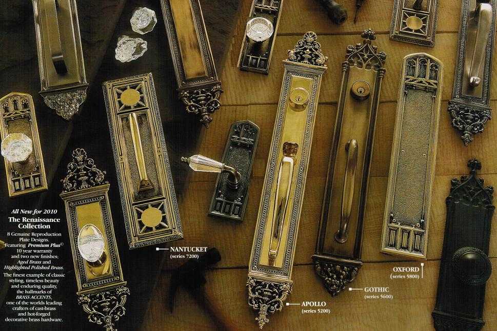 Renaissance Collection Door Hardware Sets From Brass Accents