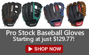 Closeout Pro Ball Gloves - Wilson A2000 Rawlings heart of the Hide