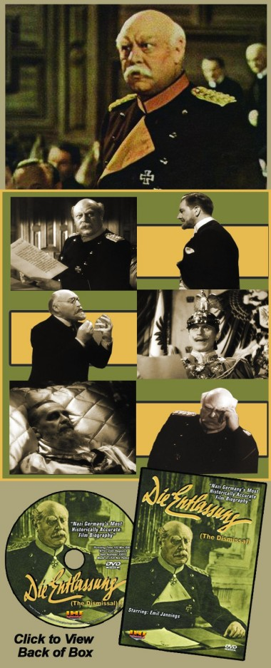 Die Entlassung DVD (The Dismissal) Emil Jannings