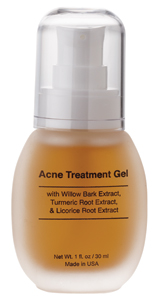 Natural Acne Spot Treatment Gel from Natural Dermatology with Glycolic Acid for Acne Clear Skin