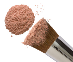 Amber Mineral Blush Powder from Natural Hypoallergenic Beauty & Cosmetics