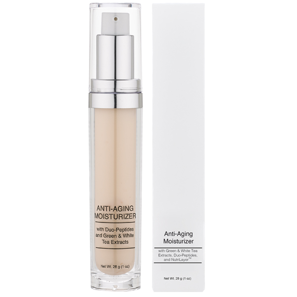 Anti-Aging Moisturizer with Green Tea, White Tea, Retinol, Nutilayer and Ginseng from Natural Dermatology