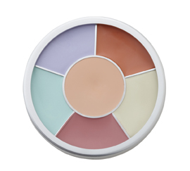 Basic and Total Face Corrector / Concealer Palette from Natural Dermatology Skin Beauty & Cosmetics