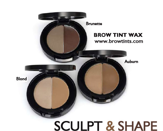 Tinted Brow Sculpting Wax from Natural Lips and Beauty for Eyebrow Grooming & Shaping