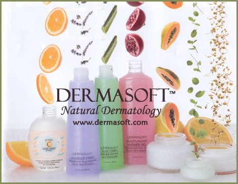 DermaSoft� Natures Dermatology for Beautiful, Healthy Skin. Natural Spa Products, Vitamin C Infusion Therapy, Action - C Antiaging Skin Care, Heal & Conceal Acne Treatments, Organic Facials, Cleansers and Masques for Sensitive Skin. Nature's Skin Products from DermaSoft� Dermatology.