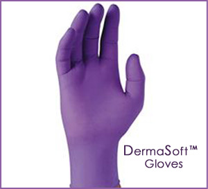 DERMASOFT® offers Hand Gloves   Multi Purpose Hand Gloves for Hand Protection   Gloves carried by DermaSoft are hypoallergenic, latex and powder free helping protect sensitive skin. Gloves used with DermaSoft™ Skincare Products are supremely comfortable and designed for use in the clinic, laboratory, industrial or commercial setting, home care, medspas, spas and salons. From DermaSoft the Great Skin Company www.dermasoftglove.com