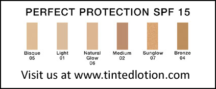 Perfect Protection SPF 15 Matte Tinted Foundation from DermaSoft™ Luxury Beauty & Cosmetics