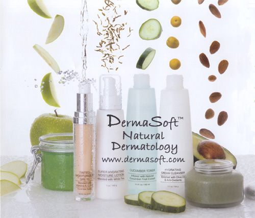 Natural Skin Care and Antiaging Products from DermaSoft&reg Dermatology