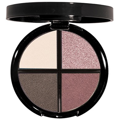 Model's Signature Shimmer Eye Shadow Quad  from Natural Dermatology Luxury Beauty & Cosmetics