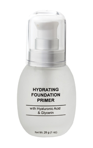 Hydrating Vitamin  Face Primer Anti-Aging Liquid Foundation with Green Tea & White Tea Anti-Oxidants from Natural Skin Care & Beauty - Hypoallergenic, Fragrance Free, Dermatologist Recommended
