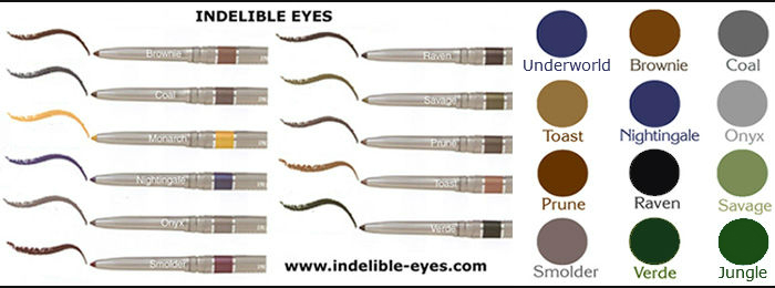 Indelible Eyes &reg Waterproof Eye Liner