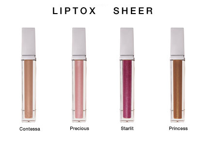Liptox Sheer Lip Plumping Gloss with Volumizing Serum to Enhance Lips with Natural Lip Serum from Natural Dermatology Lip Care - Contessa, Precious, Princess, Starlit