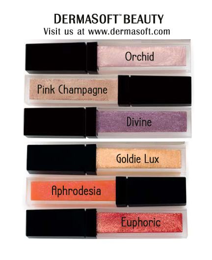 LIQUID LUSTRE Lip Plumping Gloss & Voluptuous Lips Lip Volumizing LipShine from DermaSoft Luxury Lips & Beauty.