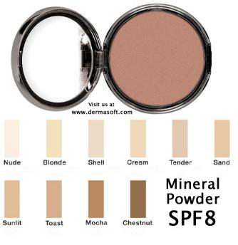 Mineral Foundation Powder - Oil Free, Fragrance Free, Hypoallergenic Mineral Face Powder. Mineral Foundation Powder is Dermatologist Recommended for Sensitive Skin. DermaSoft Sheer Beauty.